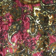 Violet dressing gown fabric?