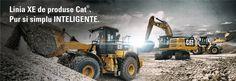 Excavator pe senile - Excavatoare CAT -  Bergerat Monnoyeur Romania. Solicita Oferta! Tractors, Monster Trucks, Cats, Gatos, Cat, Kitty, Kitty Cats