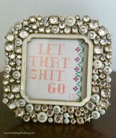 Subversive Cross Stitch: A How To from Fun Things To Do the Blog!
