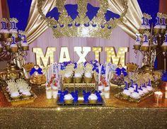 "Royal Prince / Birthday ""Prince Maxim's 1st Birthday "" 