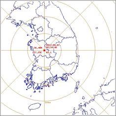 기상청은 7일 오전 2시34분께 충남 공주시 동남동쪽 12㎞ 지역에서 리히터규모 3.1의 지진이 발생했다고 밝혔다.