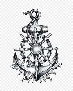 Anchor T-shirt Ship's wheel Tattoo Drawing – anchor png is about is about Sy… – Anker kompass – Anchor T-shirt Ship's wheel Tattoo Drawing – anchor png is about is about Sy… – Anker kompass – Marine Tattoos, Navy Tattoos, Anchor Tattoos, Ship Anchor, Tattoo Drawings, Body Art Tattoos, Fish Drawings, Finger Tattoos, Nautical Tattoos