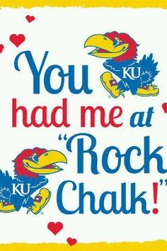 Rock Chalk!