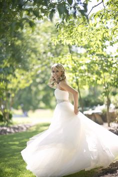 Wedding Gown by Kenneth Pool!  Photography by harwellphotography.com