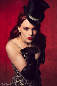 Costumes for Redheads - Satine, Moulin Rouge ~ Florian Fromentin