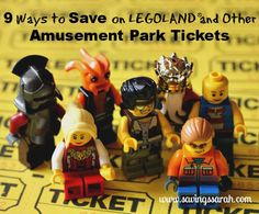 Nine Ways to Save at #LEGOLAND and other Amusement Park Tickets #AmusementParks #Save/ Earning and Saving with Sarah Fuller