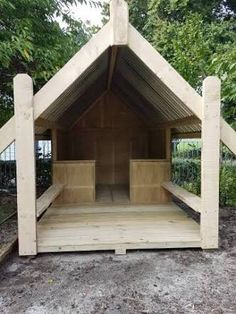 Makers of rustic wooden outdoor furniture, playground equipment, toys and garden accessories. Garden Accessories, Playground, Gazebo, Shed, Outdoor Structures, Cabin, Outdoor Furniture, Rustic, House Styles