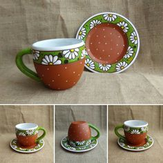 Hand Built Pottery, Slab Pottery, Pottery Mugs, Pottery Art, Ceramic Wall Art, Ceramic Clay, Porcelain Ceramics, Ceramic Vase, Hand Painted Mugs