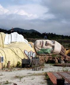 Abandoned Gulliver's Kingdom Theme Park in Japan.