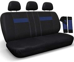 ELEQIN Women Decorative Car Seat Cover Protector Fits Front Seat Vehicles for Sedan SUV Truck Van Cover Southwestern Southwest Aztec Tribal Diamonds Blue