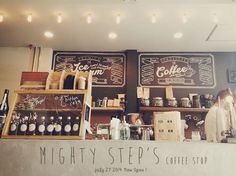 Mighty steps coffee stop マイティ ステップ コーヒー ストップ 新日本橋 : Favorite place