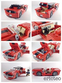 Updated LEGO Ideas - 1965 Ford Mustang | Flickr - Photo Sharing!
