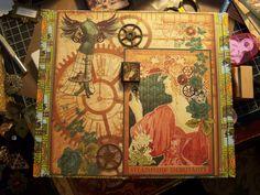 Altered steampunk cigar box