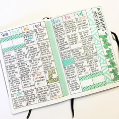 Always my favorite page in my bullet journal. This is one layout I don't think…