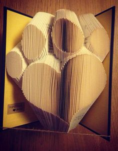 Heart Paw book fold