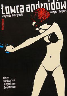 Blade Runner 1982, Polish poster x Michal Ksiazek