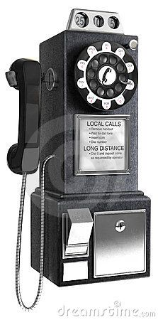 1950's pay phone. I own one of these.  Came from Double Lake out of Cleveland, Tx.