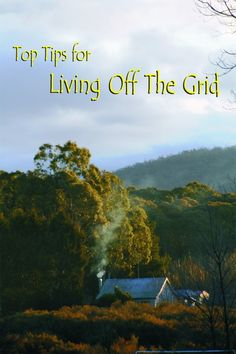 If you want to live off the grid, it helps to start thinking like an off-gridder. :)