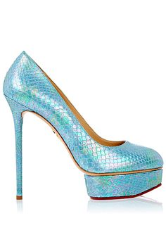 Charlotte Olympia  - Shoes - 2014 Spring-Summer. VP: Help! I can't stop pinning her! She Is FABulous!