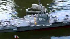 BIG RC SHIP AIRCRAFT CARRIER CVN - 76 RONALD REAGAN