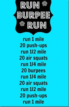 Run-Burpee-Run