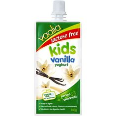 Lactose Free Kids Vanilla Yoghurt Pouch 140g $2.15 at Coles [Check ingredients for inulin]