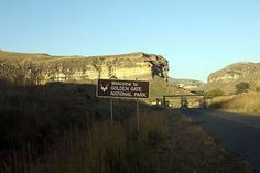 Welcome to Golden Gate National Park, Free State Free State, Golden Gate, Monument Valley, South Africa, Tourism, National Parks, Sign, Travel, Turismo