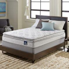 Serta Extravagant Pillowtop Queen-size Mattress Set