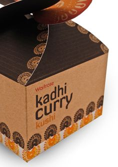 Kushi – Indian packaging design for Waitrose