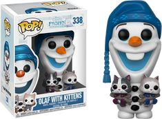 Olaf's Frozen Adventure | Olaf with Kittens Funko Pop! Vinyl Figure | Popcultcha