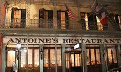Antoine's Oldest Family owned restaurant in US - New Orleans