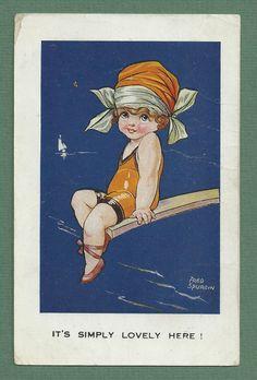 c.1920'S FRED SPURGIN postcard