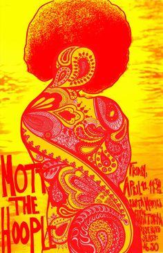 Mott the Hoople at the Santa Monica Civic Auditorium, April 12, 1974.