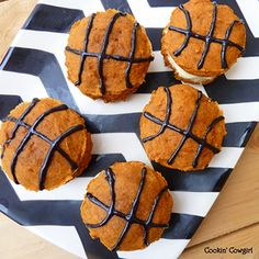 Basketball Hoopie-Pies from CHICKABUG.COM