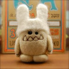 Fill your baskets with some woolly cuteness this Easter. Check out these egg shaped toys created by California based artist, Vicky of Asher Jasper. I can't get enough of her cuddly creations, like this yeti with removable bunny ears. Things made of wool are generally pretty cute by nature, but …