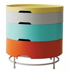 IKEA PS 2014 Storage Table | Working Mother storage solutions