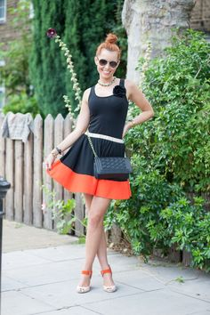 Look of the Day - Orange Rules! | Miss Street Chic