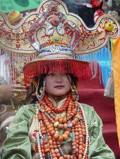 Khampa Tibetans Headdresses part 1
