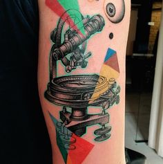 This Tattoo Artist's Surrealist Designs Belong in the MoMA via Brit + Co