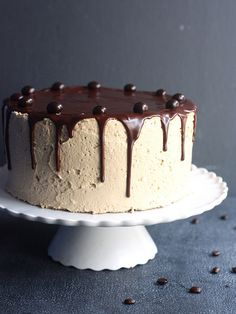 Chocolate Coffee Layer Cake by Completely Delicious, via Flickr