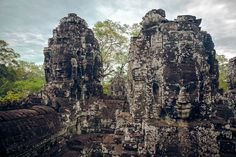 The Bayon temple, Angkor, Cambodia