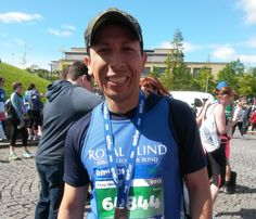 #wednesdaywisdom 'Finishing a marathon is a state of mind that says anything is possible' Sign up for a free place at Edinburgh Marathon Festival with Royal Blind.