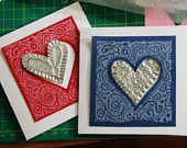 handmade cards, other designs available please contact me at zanacrafts@gmail.com for more information, Shirl :o)   https://www.etsy.com/uk/listing/177525801/heart-card-handmade-hand-stamped-with?ref=shop_home_active_19