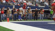 New trendy GIF/ Giphy. football nfl arizona cardinals andre ellington. Let like/ repin/ follow @cutephonecases