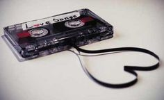Love mix tapes! I remember making these. I used to record my favorite songs from the radio station.