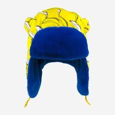 106f74a2db6475 Little Hotdog Watson - Arctic Cub: Winter Kids Hat. #kidshat  #kidsfurtrapper #