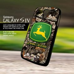 John Deere Camo Hunting Equipment - For Samsung Galaxy S4 Case Cover | onlinecustomshop - Accessories on ArtFire