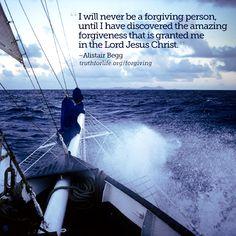 Amazing forgiveness...