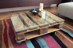 Europalette Table by Juraj Murin, via Behance