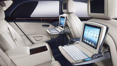 2013 Bentley Mulsanne Rear Seating Area